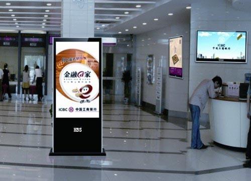 银行广告机使用