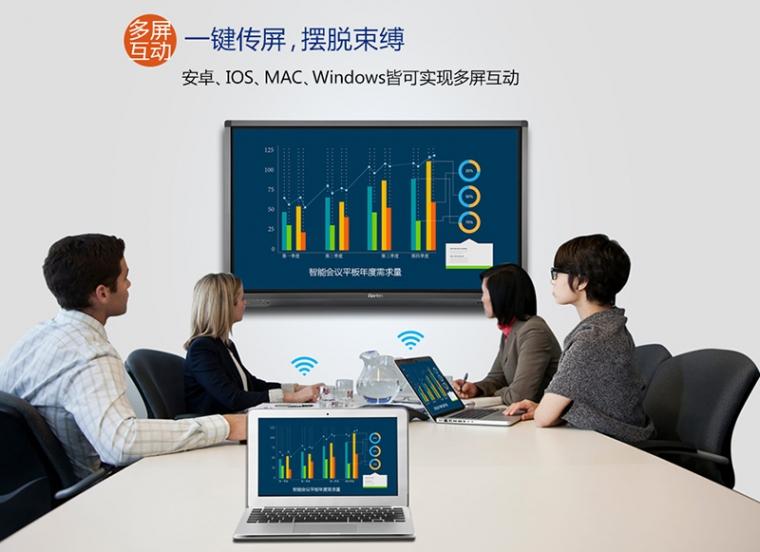 上海触控会议一体机